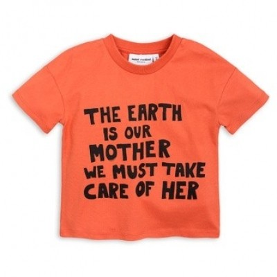 Foto van Mini Rodini Mother earth ss tee