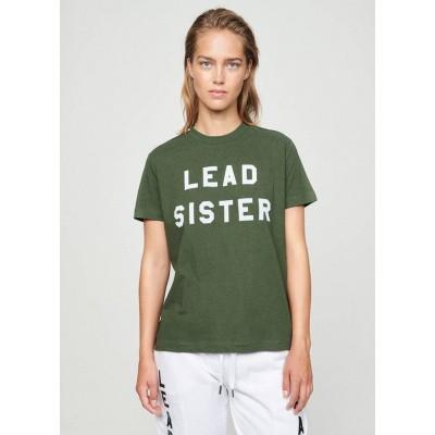Zoe Karssen Lead Sister Loose Fit T-Shirt Cambridge