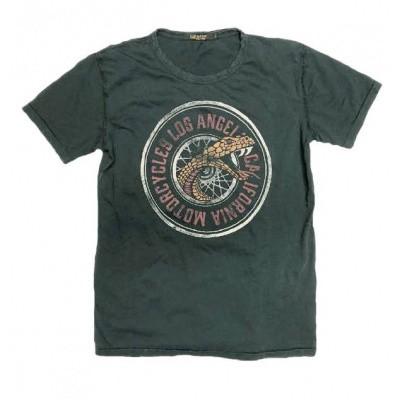 Foto van Rude Riders The Snake Wheel T-Shirt 44529