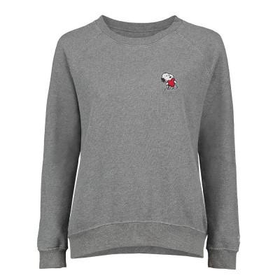 Foto van Vintage 55 Sweatshirt Snoopy Heart Grey Melange