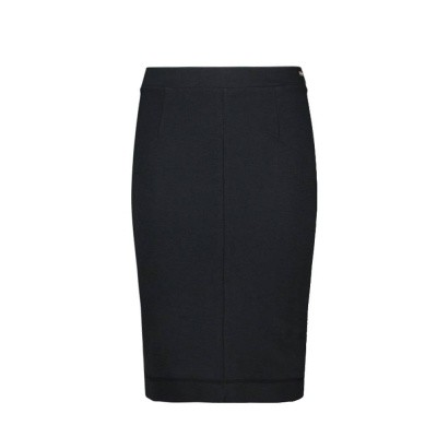 IEZ! Skirt Interlock Plain Black
