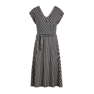 King Louie Mira Dress Rimini Stripe Blue