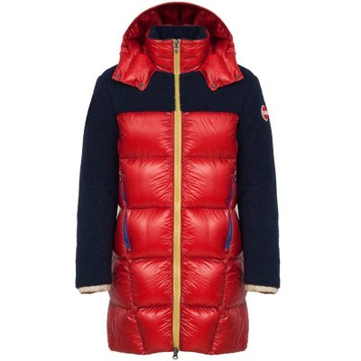 Foto van Colmar Long Teddy-Effect Down Jacket