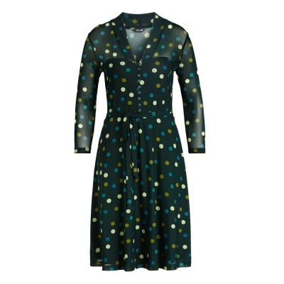 King Louie Emmy Dress Fettini Sycamore Green