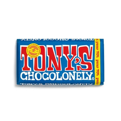 Foto van Tony's Chocolonely Pure Chocolade 180 gram