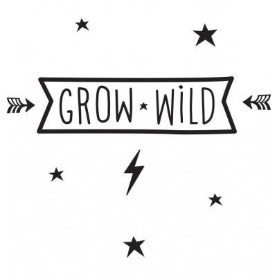 Foto van A Little Lovely Company Wall Sticker Grow Wild