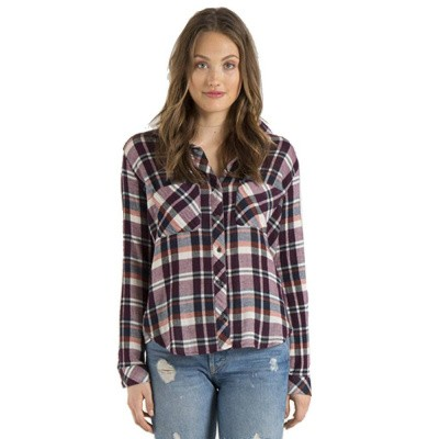 Bella Dahl Two Pocket Button Down Bowery