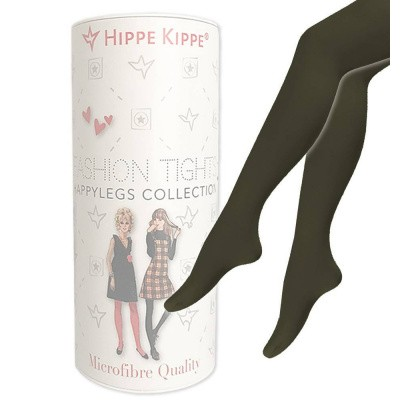 Foto van Hippe Kippe Fashion Tights 60 Denier Military Olive