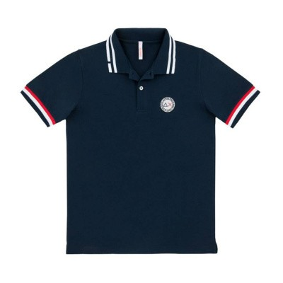 Foto van SUN68 Polo Heritage Patch Navy Blue