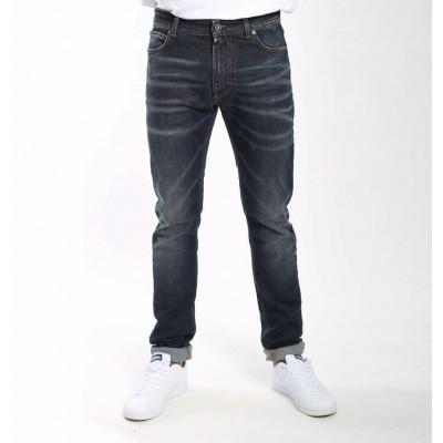 Foto van Amsterdenim Kees Slim Fit Jeans Deep Blue