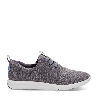 Toms Del Rey Sneaker Washed Denim Steel Grey