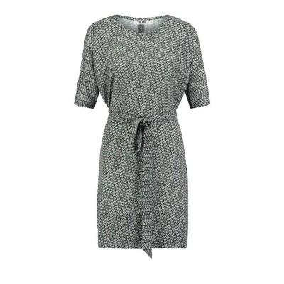 IEZ! Dress Several Prints Black Off White