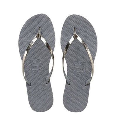 Havaianas You Metallic Steel Grey