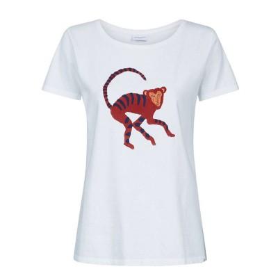 Fabienne Chapot Joanne Statement T-Shirt White Monkey