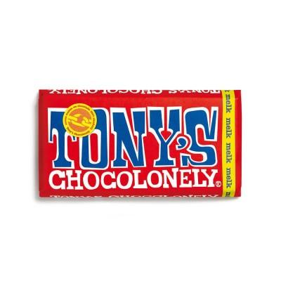 Foto van Tony's Chocolonely Melk Chocolade 180 gram