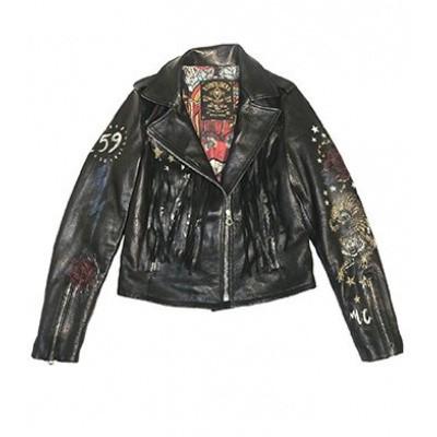 Foto van Rude Riders Hollywood Rock Perfecto Jacket Outrider Black