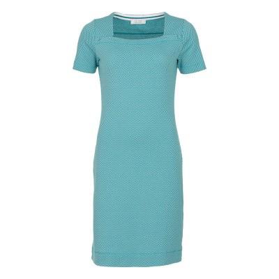 Le Pep Dress Ava Green Multi Graphic