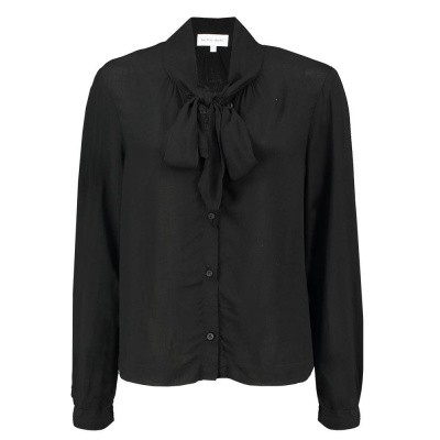 Foto van Bella Dahl Shirt Tail Button Down Black