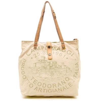 Foto van Campomaggi Shopping bag in pink fabric