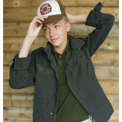Foto van Mason's Jacket Patch Grigio