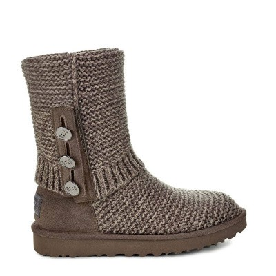 Foto van UGG Purl Cardy Knit Charcoal