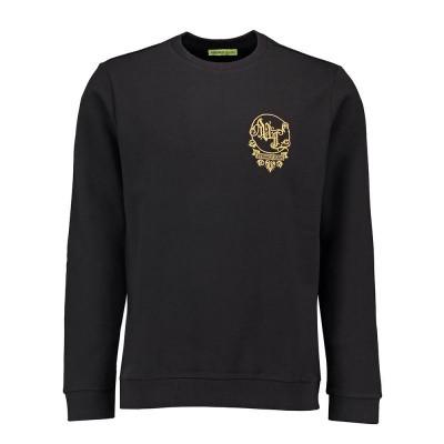 Foto van Versace Jeans Light Slim Sweater Big Baroque Black