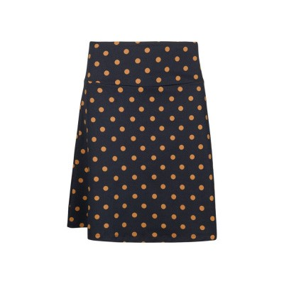 King Louie Border Skirt Partypolka Dark Navy