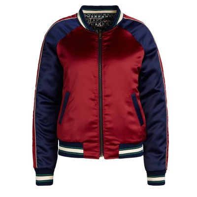 King Louie Reversible Baseball Jacket Bombastic Dark Navy