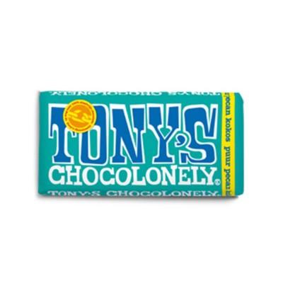 Foto van Tony's Chocolonely Puur Pecan Kokos 180 gram