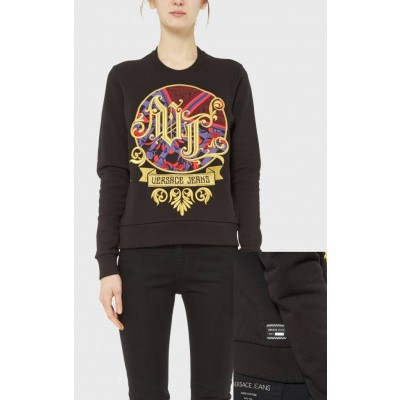 Versace Jeans Light Sweater Black