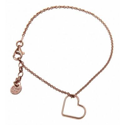 SeeMe Small Heart Bracelet Rose