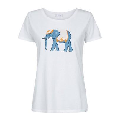 Foto van Fabienne Chapot Joanne Statement T-Shirt White Elephant