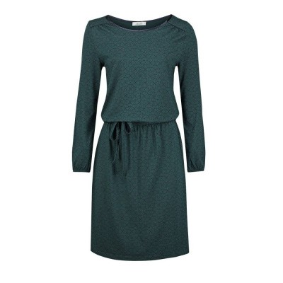 Le Pep Dress Flair Dark Green