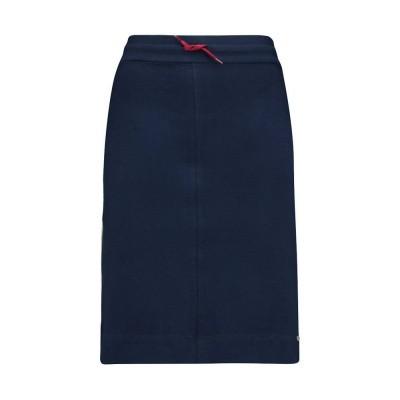 IEZ! Skirt Short French Knit Dark Blue