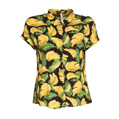 Blutsgeschwister Magnum And Me Blouse Bold Banana