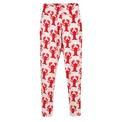 Fabienne Chapot Clara Trousers Light Pink Scarlet Red