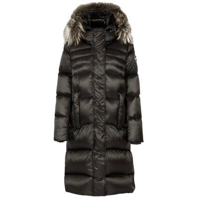 Foto van Colmar Glossy Maxi Down Jacket With Fur