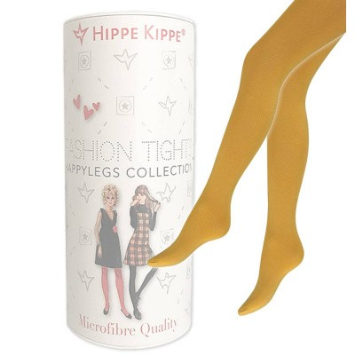 Foto van Hippe Kippe Fashion Tights 60 Denier Ocre