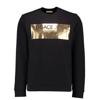 Foto van Versace Jeans Light Slim Sweater Black