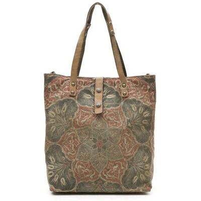 Foto van Campomaggi Shopping bag in green fabric