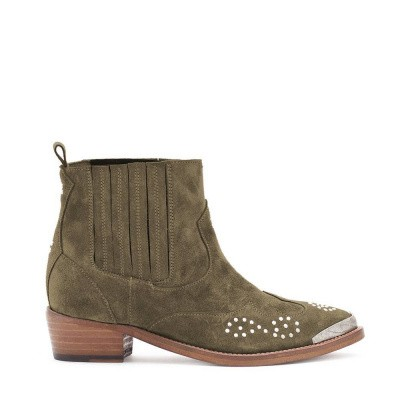 Catarina Martins Chase Suede Chelsea Boot Grey
