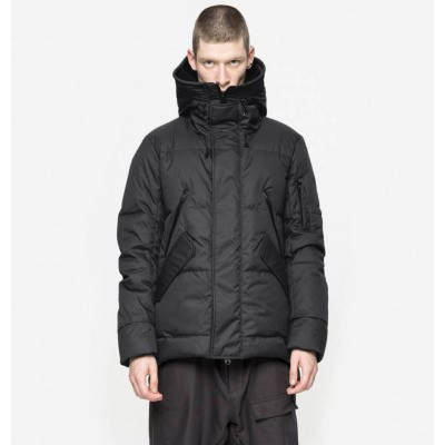 Foto van Krakatau Short Down Jacket Black