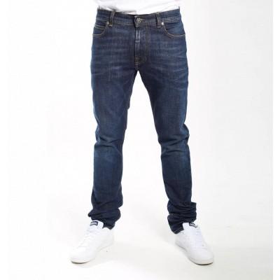 Foto van Amsterdenim Kees Slim Fit Jeans True Blue