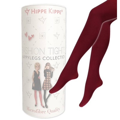 Foto van Hippe Kippe Fashion Tights 60 Denier Bordeaux