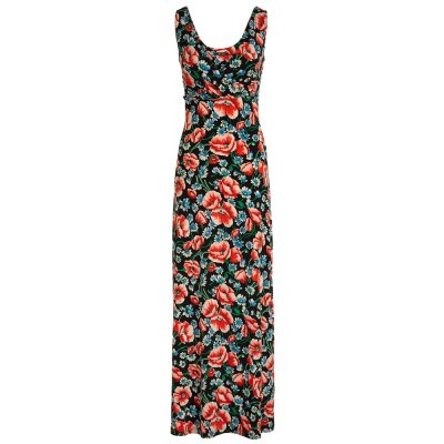 Foto van King Louie Ginger Maxi Dress Flora Black
