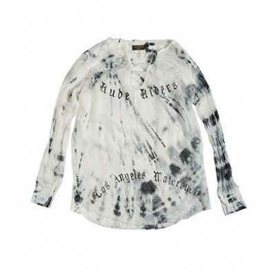 Rude Riders Shirt Give Me Rock And Roll Black White
