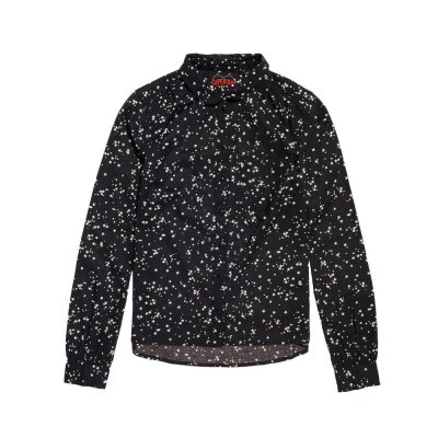 Foto van Superdry Elena Printed Shirt Night Sky Stars Black