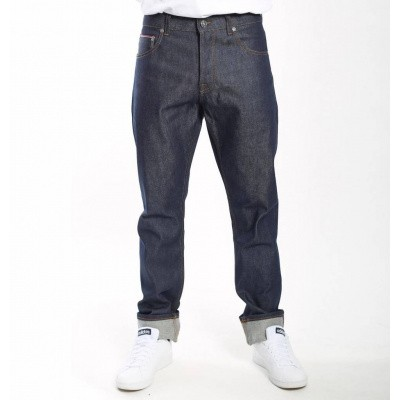 Foto van Amsterdenim Rembrandt Straight Fit Jeans Pure Royal