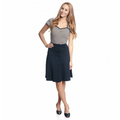 Vive Maria City Sailor Skirt Navy