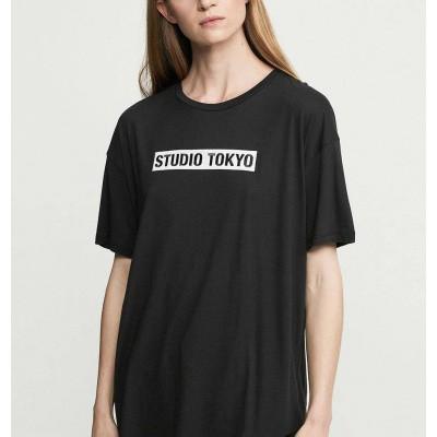Zoe Karssen Studio Tokyo Boyfriend T-Shirt Moonless Night
